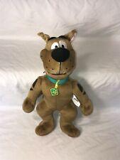 "Charter LTD Talking Scooby Doo Plush Stuffed Animal Toy 14"""