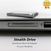 Aluminium Micro SD Adapter With Silver edge For MacBook Pro Retina 13.3