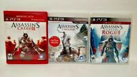 Assassin's Creed  II III 2 3 Rogue Limited Edition - PS3 Sony Playstation 3 GAME