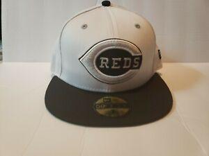 New Era Custom Cincinnati Red's Fitted Hat Cap Jordan Retro 9 13 Barons