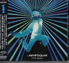 Jamiroquai A Funk Odyssey JAPAN CD with OBI 2 Bonus Track ESCA8400