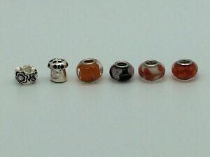 6 Pretty Charm Bracelet Style Charms No 7