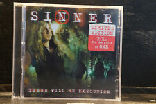 Sinner - There Will Be Execution    2 CDs