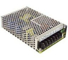 Power Supply Enclosed Single Output 12VDC with Free Air Convection MeanWell