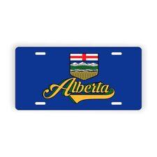 "Alberta Novelty Licence Plate 6"" x 12"" Aluminum Plate"