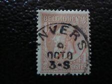 BELGIQUE - timbre - yvert et tellier n° 51 obl (A6) stamp belgium