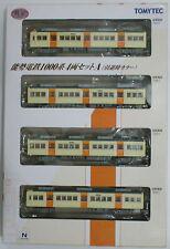 1/150 N scale TOMYTEC Train / Railway Nose-gun line 1000 Series 4 car A