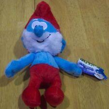 "The Smurfs PAPA SMURF 9"" Plush STUFFED ANIMAL Toy NEW w/ TAG"