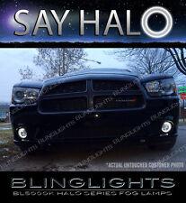 2011 2012 2013 2014 Dodge Charger Halo Fog Lamp Driving Light Kit LED Angel Eyes