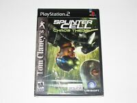 Splinter Cell Chaos Theory Playstation 2 Game PS2 New Factory Sealed 2005
