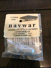 Navwar 1/1200 scale ACW Ships