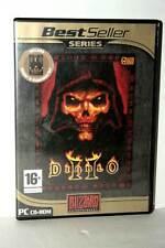 DIABLO II + EXPANSION SET GIOCO USATO BUONO PC CDROM VERSIONE ITALIANA GD1 43224