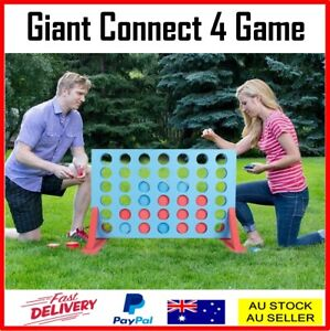 Giant Connect 4 In a Row Jumbo Family Garden Game Outdoor Party Four-In-A-Row