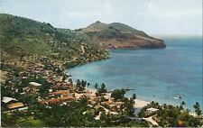 Postcard Martinique Anses d'Arlets Village Unused