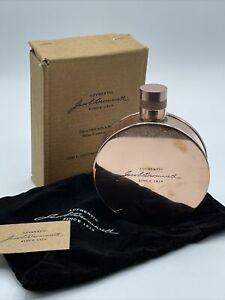 Jacob Bromwell Copper Kentucky Round Flask 6oz. Handmade Velvet Bag New