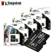 Kingston 16Gb 32Gb 64Gb 128Gb 256Gb Micro SD SDHC MicroSDXC Class10 Carte A1 FR