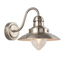 liberée Mendip 1 Litre Lampe Murale 40W nickel satin effet ASSIETTE &