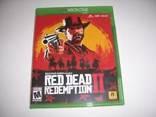 Original Box Case Replacement Microsoft Xbox One XB1 Red Dead Redemption II
