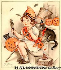 Vintage Halloween Graphic Print #7 - Available in 4 Sizes