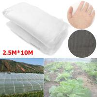 10mx2.5m Filet Anti Insecte Oiseau Arbre Fruit Protection Plante Légume Fruitier