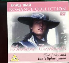 Barbara Cartland - Lady And The Highwayman /  Daily Mail  DVD - 1st Class Post