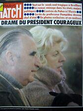 PARIS MATCH N° 1301 de 1974 PRÉSIDENT POMPIDOU DÉCÈS AFFAIRE BRUAY SOLJENITSYNE
