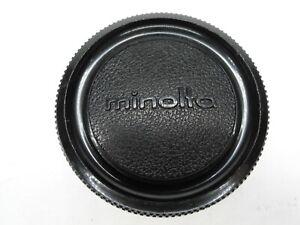 #2 Minolta Vintage Camera Body Cap For MC MD SR Mount SLR Cameras SR-T XD XE XG