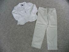 2-teiliges Set von TAIFUN Gr. 38/40 weiß, Hose und Blazer