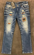 NEW AFFLICTION $155 MENS GAGE LEGACY SLIM JEANS IN AVALON SZ 36 36/32