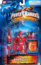 "Power Rangers Dino Thunder 5"" RED Dino Action Ranger New Factory Sealed 2004"