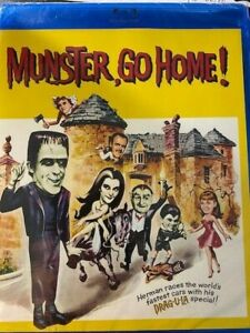 MUNSTER GO HOME!  REGION  A   BLU RAY  NEW! from The Shout Factory