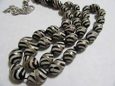 Prayer Beads-Coco-Kuka-Rosary-masbaha-tasbih 33 beads  oval white colorالنارجيل