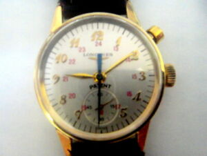 IN AUCTION LONGINES WITTNAUER CHRONOSTOP