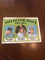 1972 Topps Rookie Stars Carlton Fisk  #79 Baseball Card