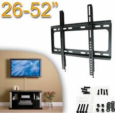 """Supporto acciaio TV LCD,plasma,led.Da 26 a 52"""".Muro,Vesa 200 400.Parete,fisso."""