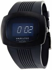NEW Hamilton Mens Pulsomatic Automatic Swiss Black Watch H52585339 - NEW IN BOX!