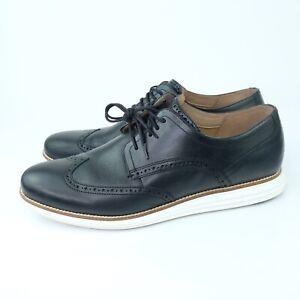Cole Haan Men's Original Grand Sz 13 Shortwing Dress Shoes Black C26469