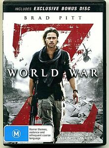 DVD WORLD WAR Z BRAD PITT RARE 2 DISC SPECIAL EDITION BRAND NEW UNSEALED REG 4