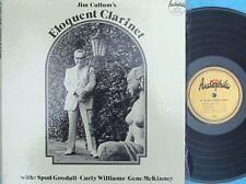 Jim Cullum's eloquent clarinet ORIG US LP NM New Orleans Jazz Audiophile AP107