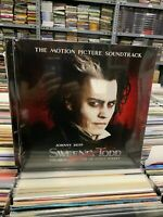 Johnny Depp Sweeny Todd 2 LP Original Picture Soundtrack Versiegelt 2020