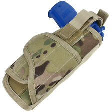 CONDOR VERTICAL US TACTICAL ARMY PISTOL HOLSTER CAMOUFLAGE MOLLE HOLDER MULTICAM