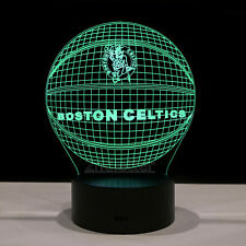 Boston Celtics Kyrie Irving Jayson Tatum LED Light Lamp Collectible Gift