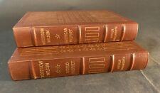 Woodrow Wilson Volume I  & II American Prophet  World Prophet Easton Press