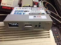 USB Gotek floppy emulator, 16 GB, oled, sound for Amiga,Atari, Amstrad, Spectrum