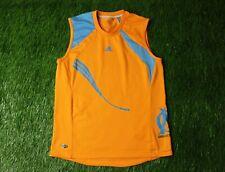 OLYMPIQUE MARSEILLE 2008-2009 FOOTBALL VEST JERSEY TRAINING ADIDAS ORIGINAL