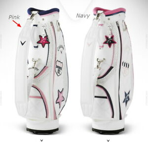 Callaway LADIES SPORTS Women's Caddie Bag 8.5 Inch 5 Way 7.7lb free Ems **Pink**
