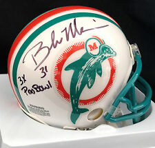 Brock Marion 3 Time Pro Bowl Inscription Miami Dolphins