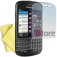 3 Schutzfilm für Blackberry Q10 Schützen Sie Sparen Bildschirm Display Filme LCD