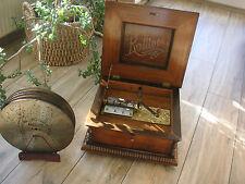 "Kalliope im Prunkgehäuse 33,6cm Platten crank automaton music box 13 1/4"" disc"