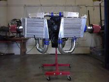 Twin Turbo Intercooler For Chevelle Malibu El Camino Impala Bel Air Camaro Nova